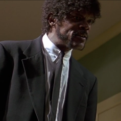 Samuel L. Jackson Pulp Fiction Ezekiel 25:17
